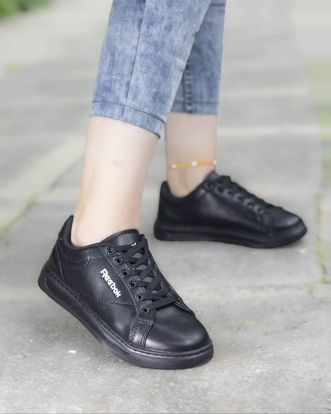 کفش اسپرت دخترانه مشکی - کفش تعطیلات