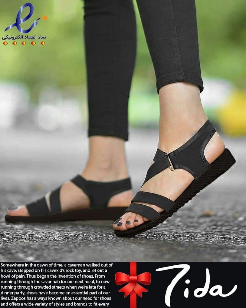 صندل دخترانه ارزان تیدا - کفش تعطیلات